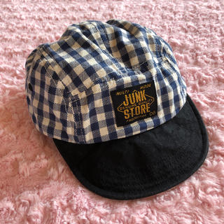 ジャンクストアー(JUNK STORE)のJUNK STORE♡チェック柄 帽子(帽子)