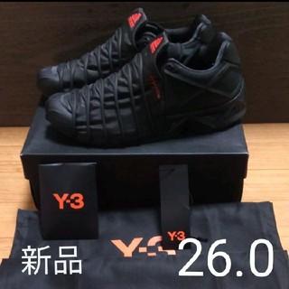 ワイスリー(Y-3)の新品 Y-3 スニーカー yuuto サイズ26.0(スニーカー)