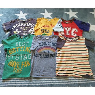 サンカンシオン(3can4on)の3can4on他☆120cm Tシャツ6枚セット(Tシャツ/カットソー)