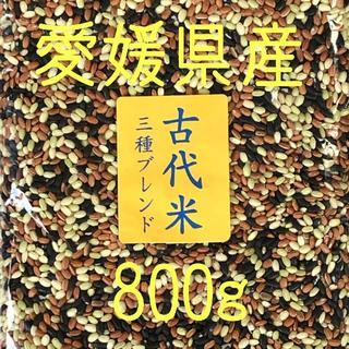 古代米3種ブレンド 愛媛県産 800(米/穀物)