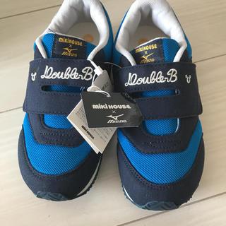 ダブルビー(DOUBLE.B)の新品タグ付き☆ミキハウス☆ダブルビー☆ミズノ☆スニーカー☆靴(スニーカー)