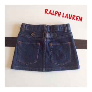 Ralph Lauren - RALPH LAUREN⭐️デニム スカート 110