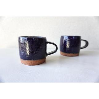 マグカップ  ブルー(ペア)(食器)