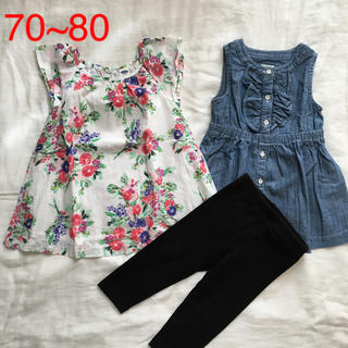Old Navy - OLD NAVY ワンピースセット☆70~80
