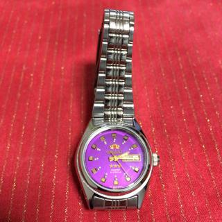 オリエント(ORIENT)のオリエント腕時計パープル(腕時計)