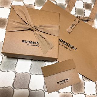 バーバリー(BURBERRY)のBURBERRY ギフトBOX ショッパー(ラッピング/包装)