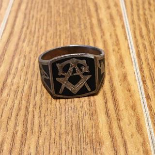フリーメイソン 925刻印シルバーリング(90016286)(リング(指輪))