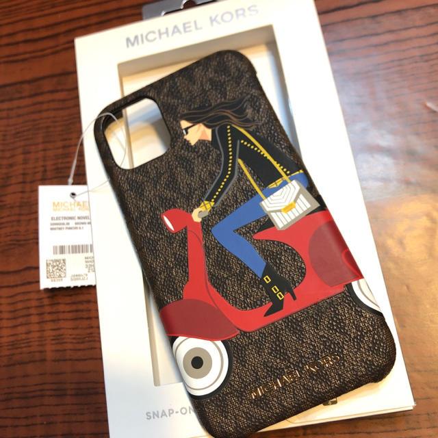 Michael Kors - マイケルコース iPhone 11proレザーバイクロゴ アイホン ケース MKの通販 by US輸入、ケイト、トミーMKコーチ、ポロ|マイケルコースならラクマ