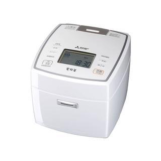 三菱 - お得!三菱5.5合  NJ-VV109-W IH炊飯器 内釜:ダブル炭コート5層