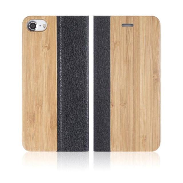 天然木 手帳型ケースiPhone8/7  バンブー  ※iPhone11,11Pの通販 by TKストアー |ラクマ