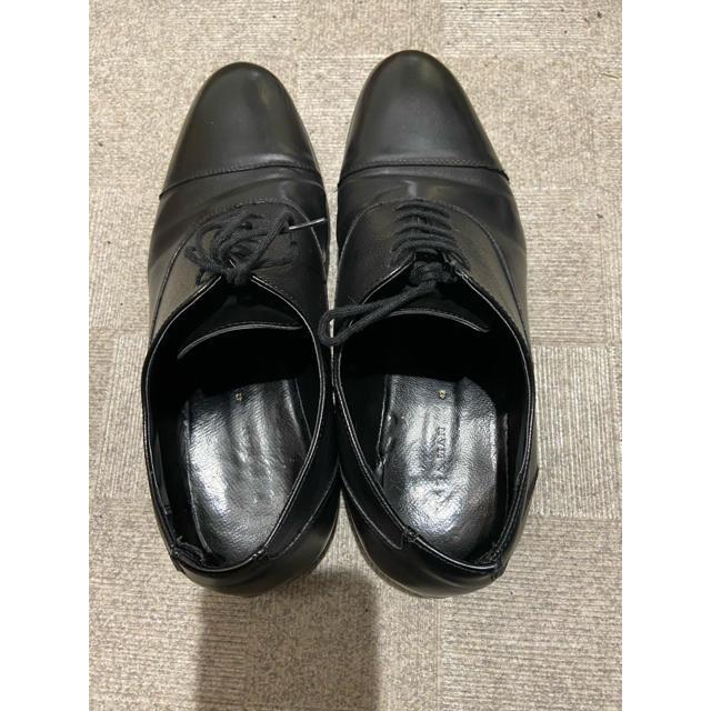 ZARA(ザラ)のZARAMEN ローファー ビジネスシューズ 黒 メンズの靴/シューズ(ドレス/ビジネス)の商品写真