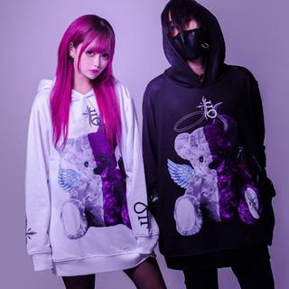 アンクルージュ(Ank Rouge)のCIVARIZE TRAVAS TOKYO 天使と悪魔 くま パーカー2点セット(パーカー)