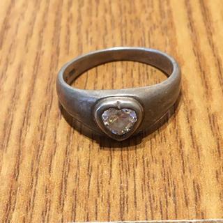 925刻印透明石付シルバーリング(90016310)(リング(指輪))