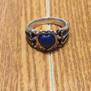 925シルバー刻印 青石付シルバーリング(90016305)(リング(指輪))