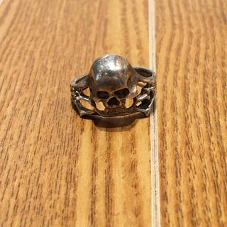 スカルモチーフシルバーリング(90016313)(リング(指輪))