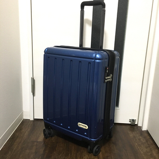 アウトドアプロダクツ(OUTDOOR PRODUCTS)のアウトドアプロダクツ スーツケース ブルー Sサイズ 機内持ち込み(スーツケース/キャリーバッグ)