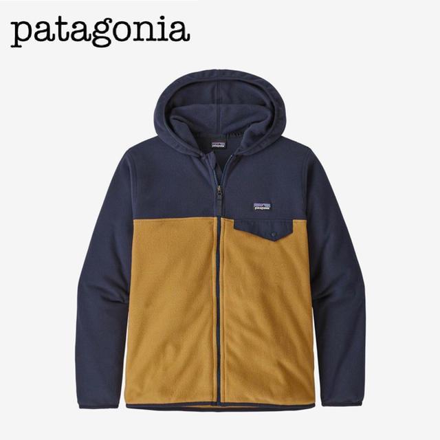 patagonia(パタゴニア)のpatagonia Boys' Fleece Jacket キッズ/ベビー/マタニティのキッズ服男の子用(90cm~)(ジャケット/上着)の商品写真
