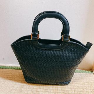ハマノヒカクコウゲイ(濱野皮革工藝/HAMANO)のHAMANO  ハンドバッグ (ブラック)(ハンドバッグ)