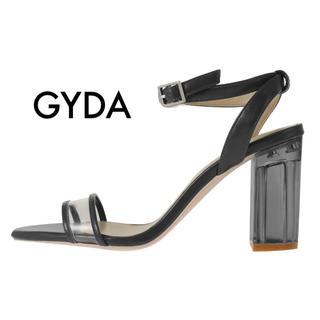 GYDA - クリアワイドヒールサンダル