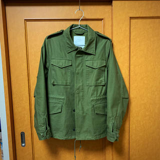 ハイク(HYKE)のHYKE フィールドジャケット レギュラーフィット  サイズ3 ミリタリー 美品(ミリタリージャケット)