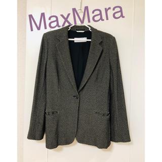 マックスマーラ(Max Mara)のMaxMara 白タグ ジャケットL(テーラードジャケット)