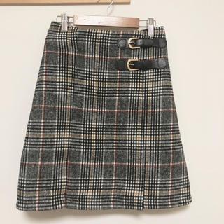 イング(INGNI)のINGNI スカート チェック サイズM(ひざ丈スカート)