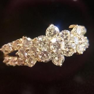限定お値下げ 1ct  ダイヤモンド リング k18 指輪(リング(指輪))