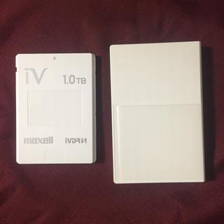 マクセル(maxell)のmaxell IVDR カセットHDD(1TB)(その他)