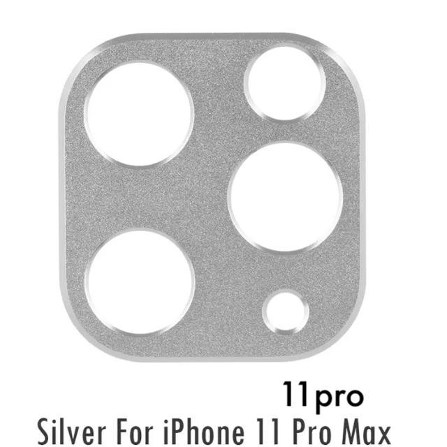 iphone 8 ケース フルラ | 〖新品〗激安 iPhone11pro/proMax カメラプロテクター✦シルバーの通販 by AmiAmi♬︎shop|ラクマ