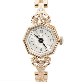 アガット(agete)のアガット agete 時計 オクタゴン フェイス ジュエリーウォッチ(腕時計)