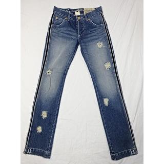 ダブルスタンダードクロージング(DOUBLE STANDARD CLOTHING)のダブルスタンダードクローシング☆サイドラインデニム☆36☆ウェスト約74cm(デニム/ジーンズ)