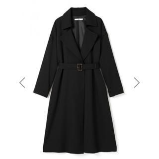 グレイル(GRL)のGRL ロングテーラードコート ブラック 黒 韓国ファッション オルチャン(ロングコート)