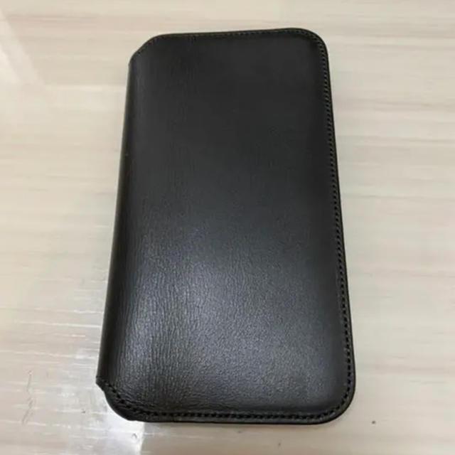 iphone ケース 木 - Apple - iPhone 11 pro レザーフォリオ ブラック 黒の通販 by yuu's shop|アップルならラクマ