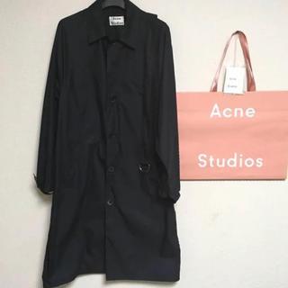 アクネ(ACNE)のAcne Studios サイズ44トレンチコート ネイビー (テーラードジャケット)