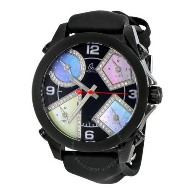オリス偽物 時計 a級品 | ジェイコブ Five time Zone Men's Watchの通販
