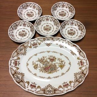 ニッコー(NIKKO)のNIKKO DOUBLE PHOENIX 大皿&小皿5枚セット(食器)