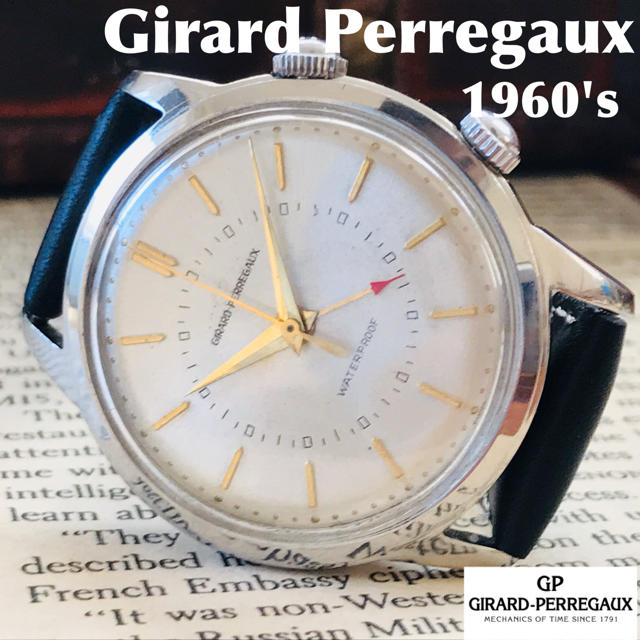 ジン コピー 芸能人女性 、 GIRARD-PERREGAUX - ■激レア!アラーム付き!■高級/ジラールペルゴ/手巻きメンズ腕時計の通販