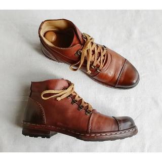 ネストローブ(nest Robe)のOFFICINE CREATIVE cusna antique brown 38(ブーツ)
