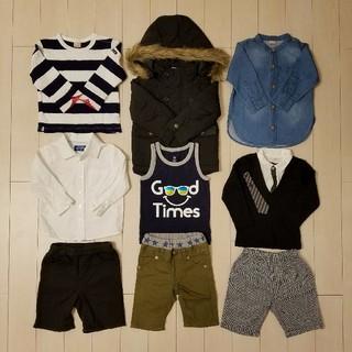 プティマイン(petit main)の男の子 洋服 90 まとめ売り petit main DOUBLE.B GAP(Tシャツ/カットソー)