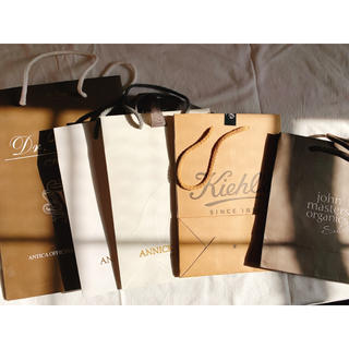 美容系ブランドのショップ袋