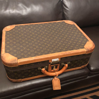 ルイヴィトン(LOUIS VUITTON)の【3/28AM削除】LOUIS VUITTONトランク ヴィンテージ(トラベルバッグ/スーツケース)