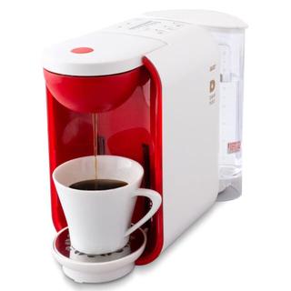 UCC コーヒーメーカー (ホワイト×レッド) DP2A コーヒーカプセル付き
