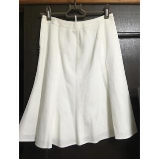 ブリリアントステージ(Brilliantstage)のブリリアントステージ  白スカート1330→1100(ひざ丈スカート)