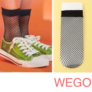WEGO - 新品 WEGO ネットソックス 網ソックス 靴下 ブラック レディース ソックス