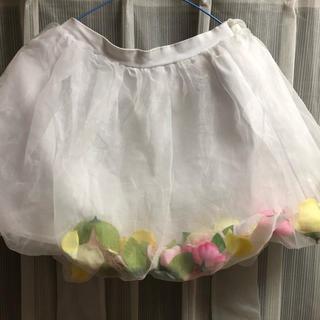 Swankiss - スワンキス お花 フラワー スカート ミニスカート ゆめかわ メルヘン
