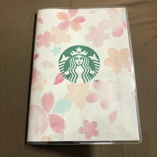 スターバックスコーヒー(Starbucks Coffee)のスターバックス ビニール手帳カバー A6(ブックカバー)
