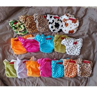 布オムツ 竹布 バンブー 一体型 (布おむつ)