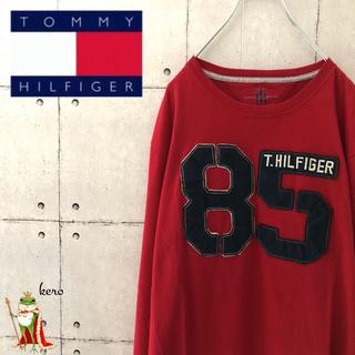 トミーヒルフィガー(TOMMY HILFIGER)の【レア】トミーヒルフィガー ナンバー ロンT(Tシャツ/カットソー(七分/長袖))