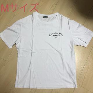 ディオール(Dior)のディオール  Dior メンズ アトリエ ロゴ Tシャツ Mサイズ 白(Tシャツ/カットソー(半袖/袖なし))