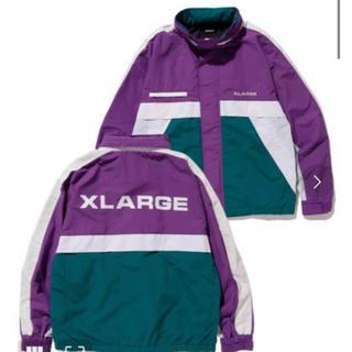 エクストララージ(XLARGE)の最新!20ss エクストララージ ナイロンジャケット  XL グリーン(ナイロンジャケット)